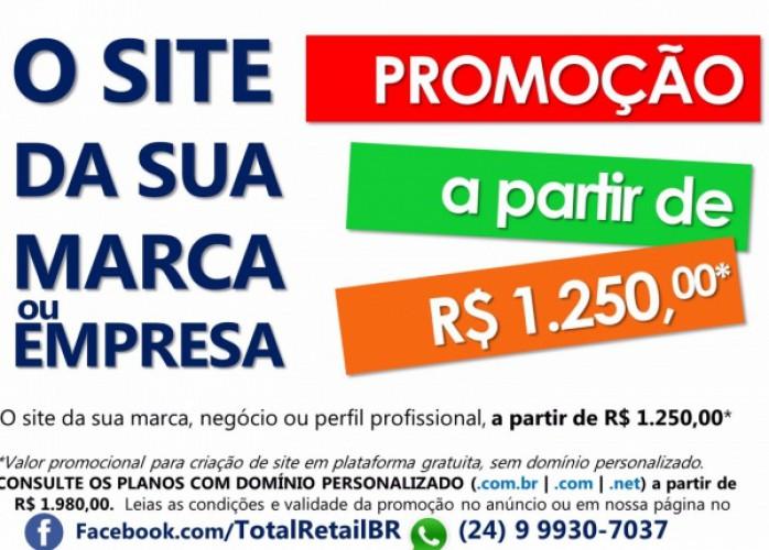o site para sua marca, empresa ou perfil profissional - promoção!