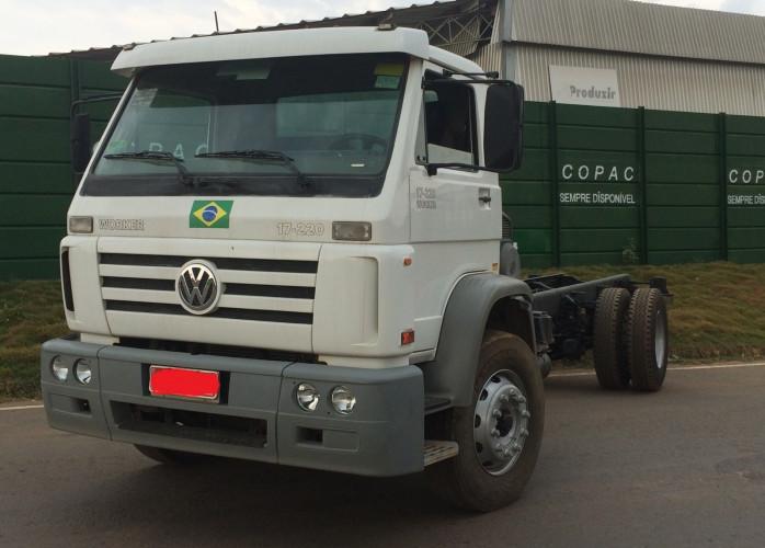 caminhão vw 17220 único dono lopac 2011