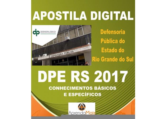 apostila dpe rs 2017 analista administração + brindes
