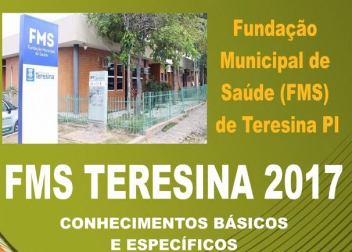 apostila fms teresina pi 2017 enfermeiro + brindes