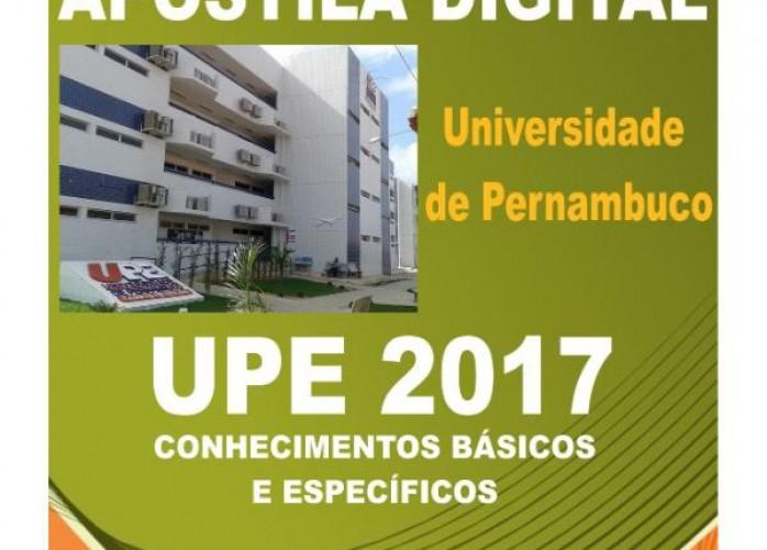apostila upe 2017 pedagogo + brindes