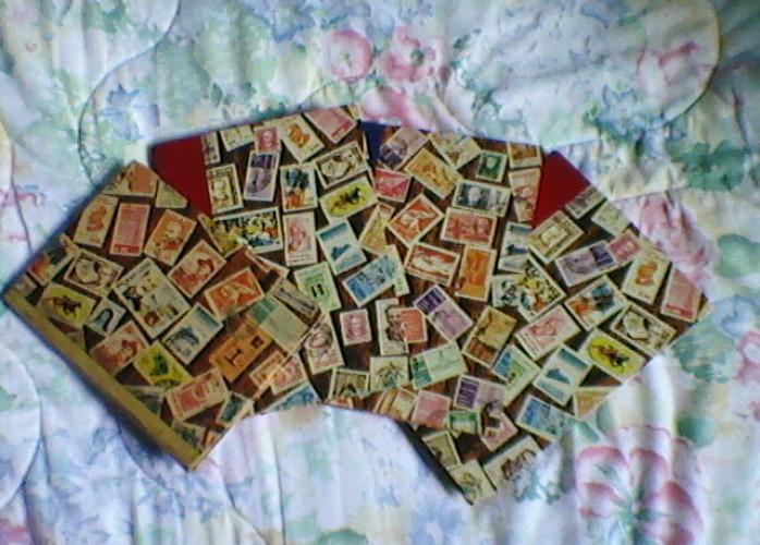 LONDRINA###coleção de selos nacionais