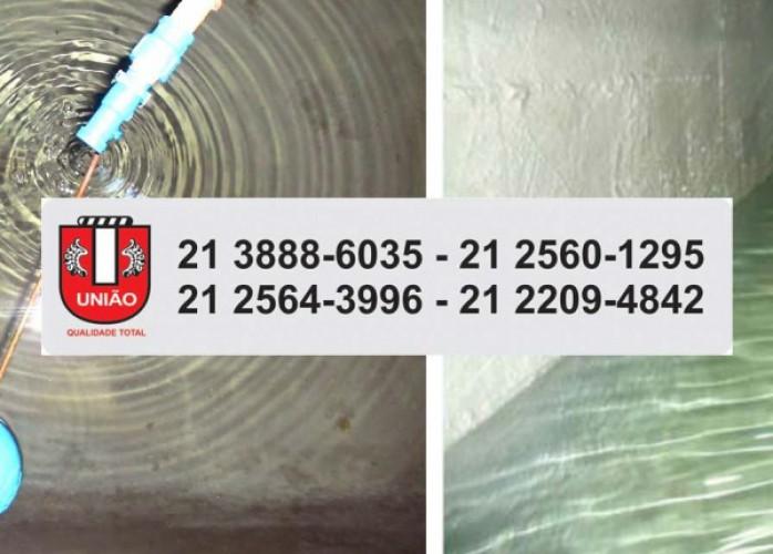 paqueta impermeabilização e limpeza caixas d´água e cisternas