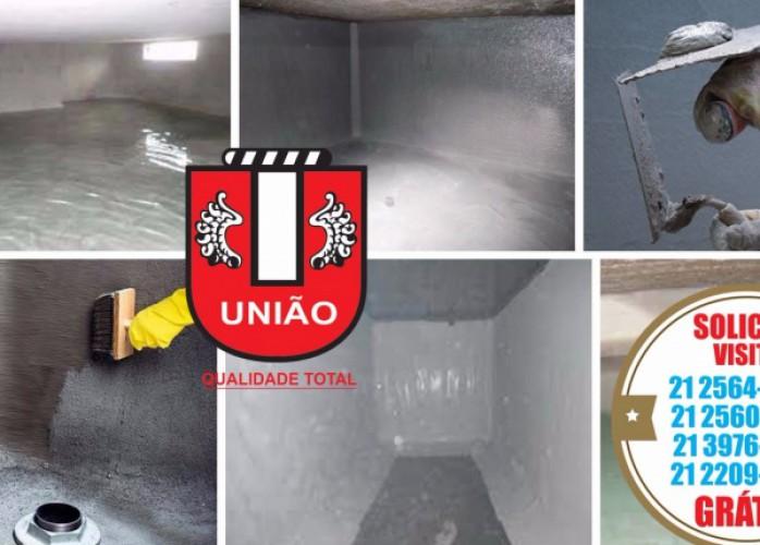impermeabilização e limpeza caixas d´água e cisternas oswaldo cruz em rj