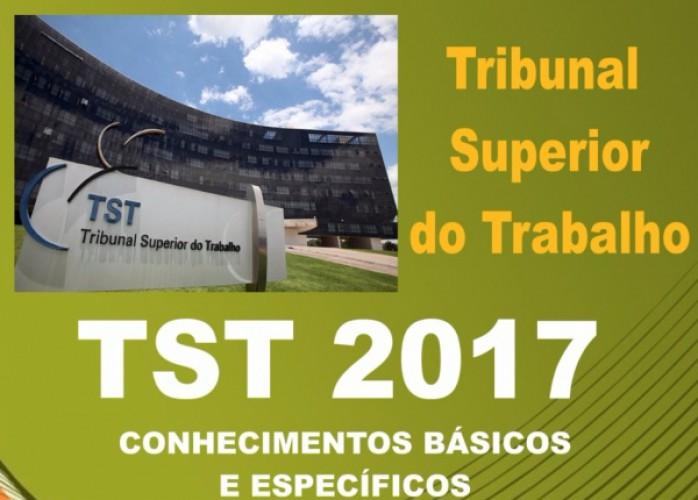 apostila tst 2017 analista judiciário área judiciária + brindes