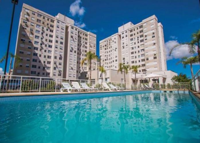 apartamento 2 dormitórios 11° andar alto c/ vista panorâmica