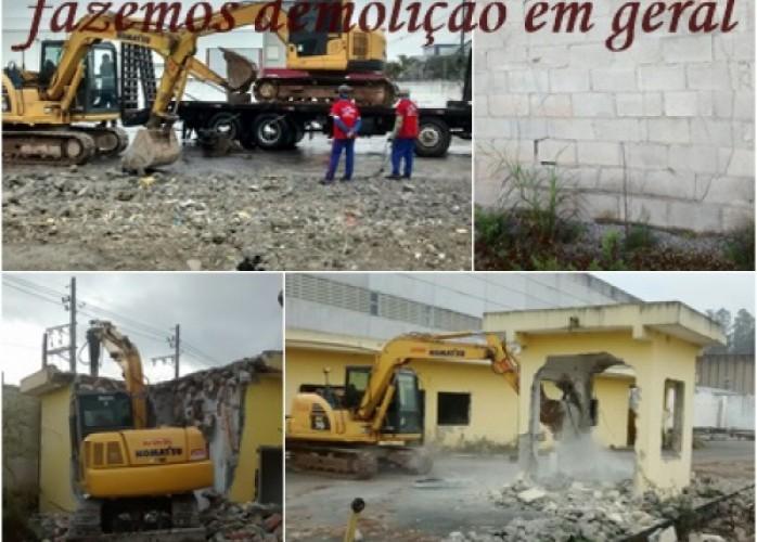 demolição em mauá