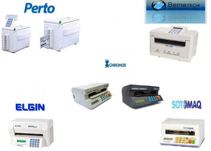 máquina de cheque assistência técnica em santos