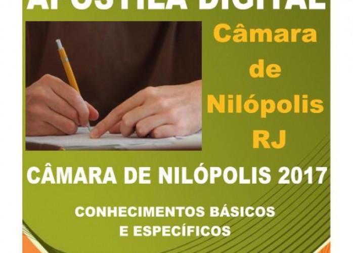 apostila câmara de nilópolis 2017 técnico finanças e orçamentos + brindes