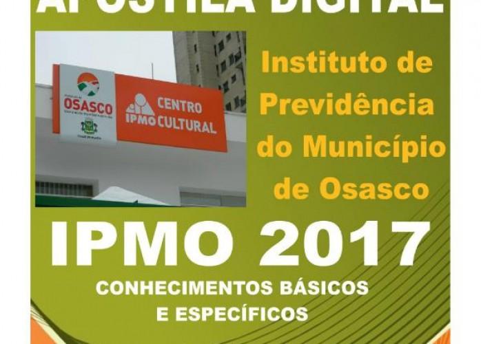 apostila ipmo 2017 técnico previdenciário + brindes