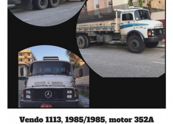 vendo caminhão 1113 truck