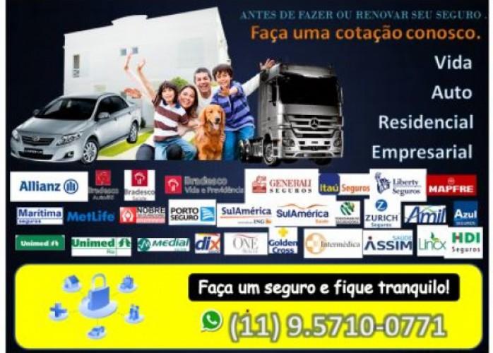 seguros autos, residencia e vida