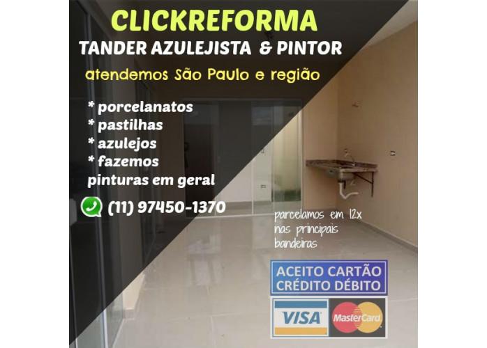 Tander Azulejista em São Paulo e Região