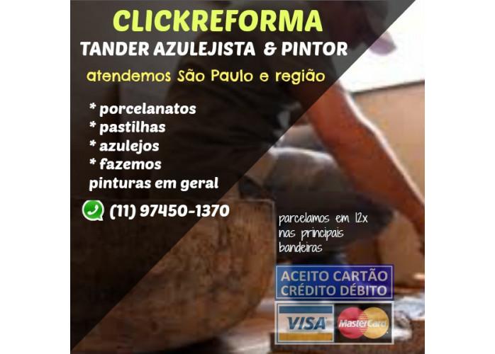 INSTALAÇÃO DE PISOS E PORCELANATOS EM ATE 12X