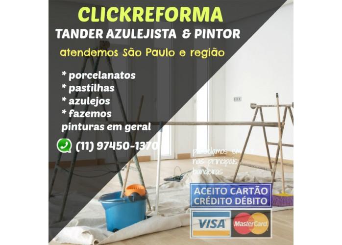 PINTOR PROFISSIONAL PAGUE EM ATE 12 VEZES NO CARTÃO