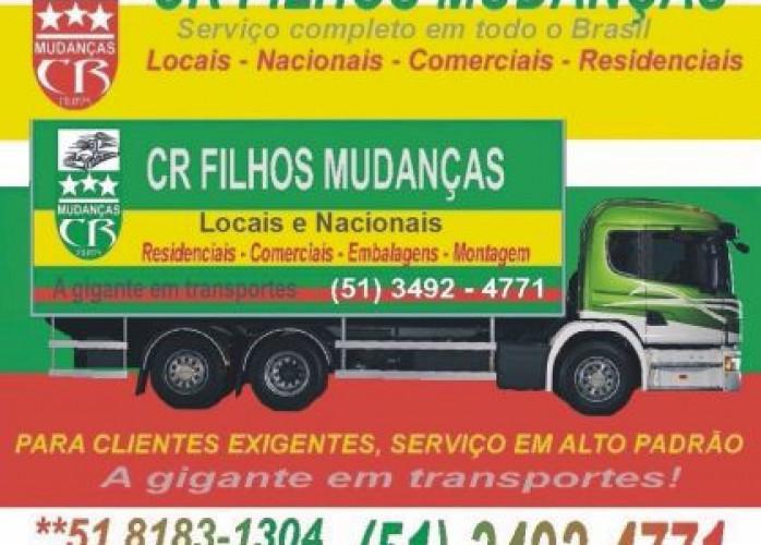 Cr filhos mudanças Porto Alegre