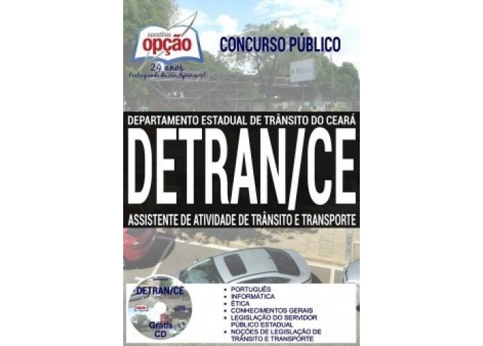 Apostila concurso DETRAN-CE 2017 Assistente de Atividade de Trânsito e Transporte