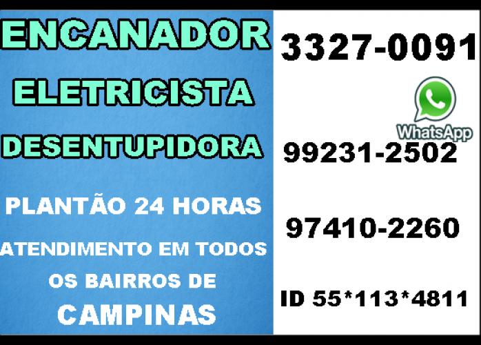 Eletricista, Encanador, Desentupidora no Vila Proost de Souza em campinas 24 Horas