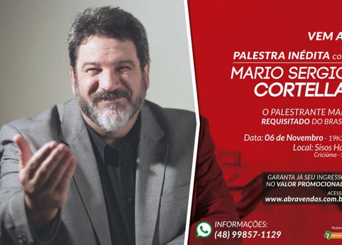 "MARIO SERGIO CORTELLA. TEMA:  ""  DA OPORTUNIDADE AO ÊXITO """