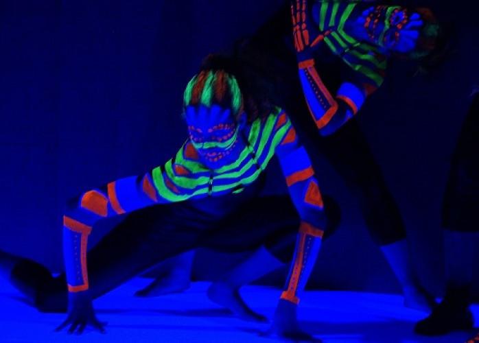 body painting eventos salvador bahia humor e circo produtora