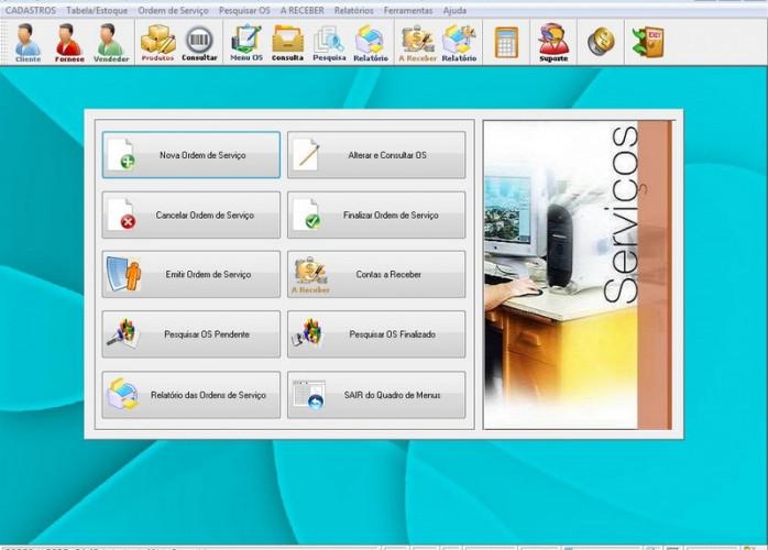 Programa OS Serviços Gerais, Orçamentos e Relatórios v2.6 FPQSYSTEM