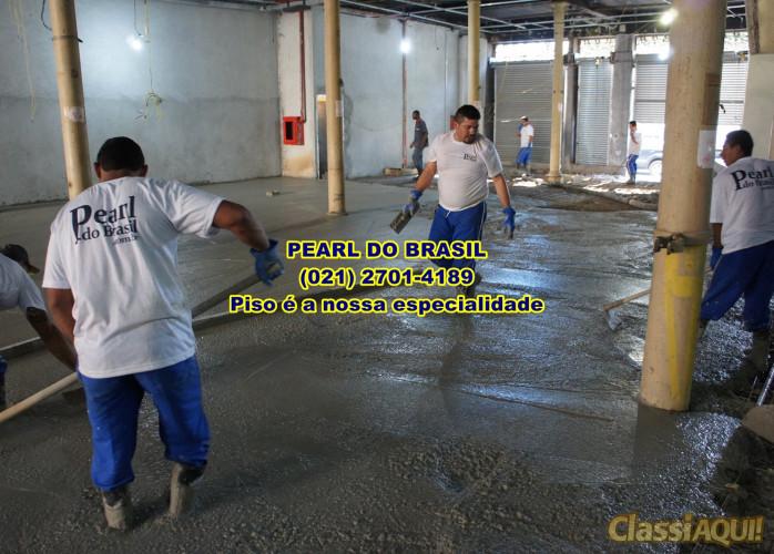 Execução De Pisos De Concreto Polido Nível Zero