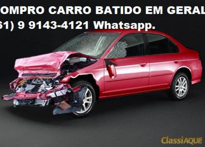 COMPRO CARRO BATIDO EM GERAL.