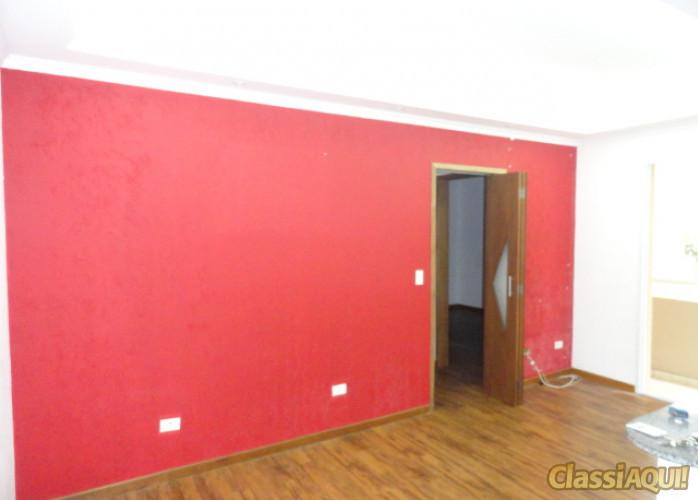 Apartamento 2 Dormitórios 53 m² em São Bernardo do Campo - Vila Gonçalves. Sala 2 ambientes com sanca em gesso e sacada,