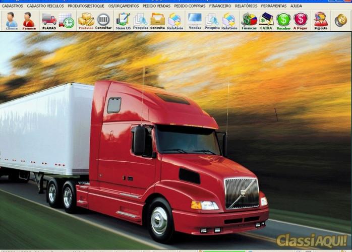 Programa OS Oficina Mecânica Caminhão com Financeiro v4.2 FPQSYSTEM