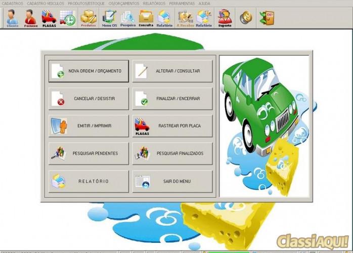 Programa para Lavagem Automotiva com Ordem de Serviços v1.0 FPQSYSTEM