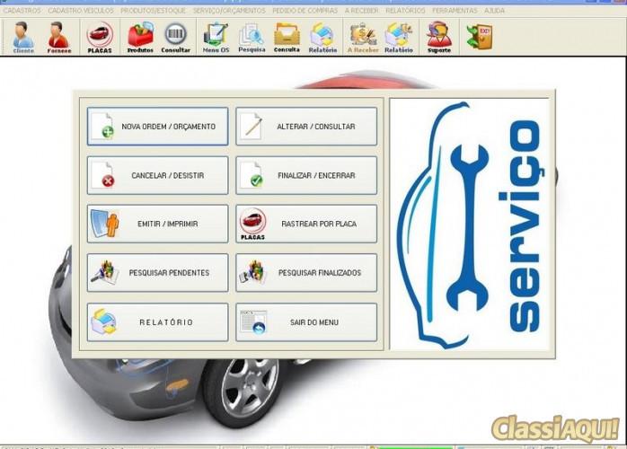 Programa para Oficina Auto Elétrica com Vendas e Estoque v1.0 FPQSYSTEM