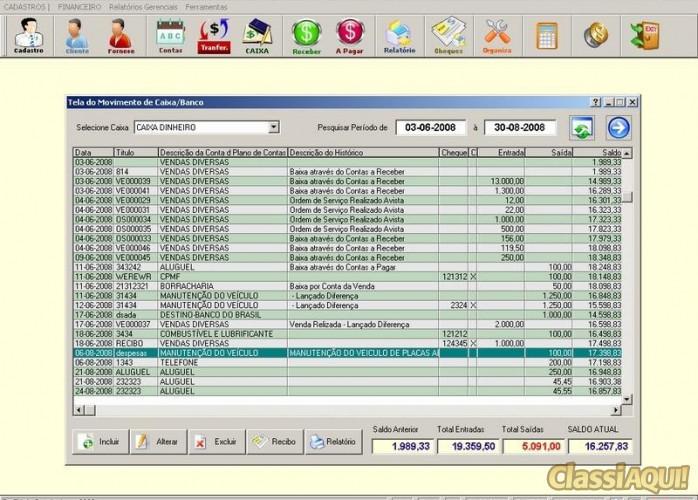 Programa Livro Caixa Financeiro v3.0 FPQSYSTEM