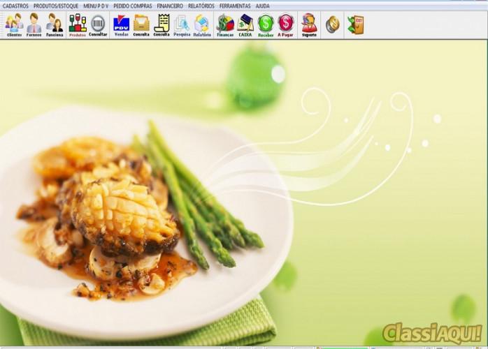 Programa Espaço Gourmet + PDV e Financeiro v1.0 FPQSYSTEM