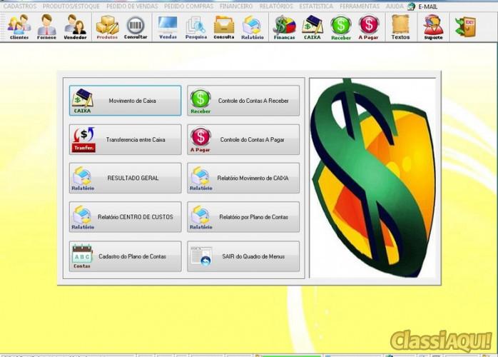 Programa Controle de Estoque, Pedido de Vendas e Financeiro v3.0 PLUS FPQSYSTEM