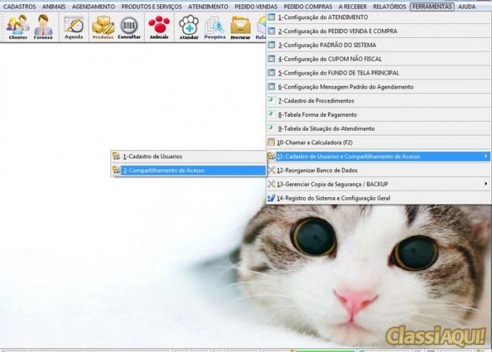 Programa para PetShop com e Agendamento e Vendas v2.0 FPQSYSTEM