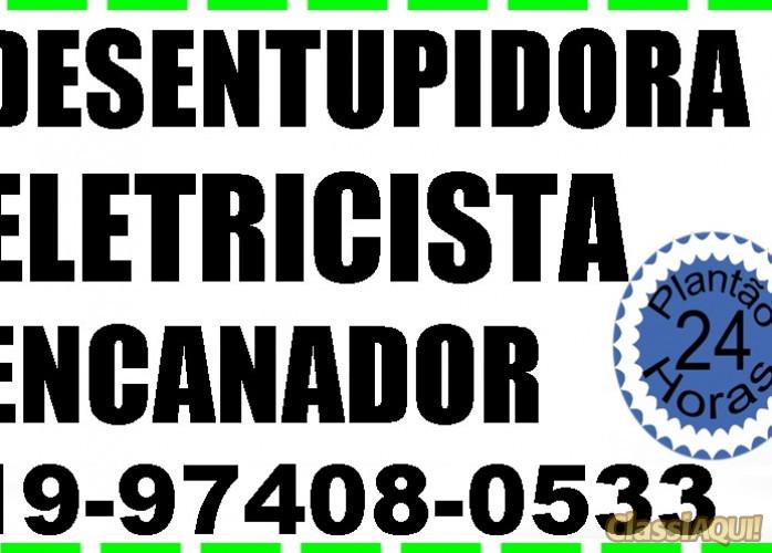 Desentupidora de Vaso Sanitário Barão Geraldo 24h