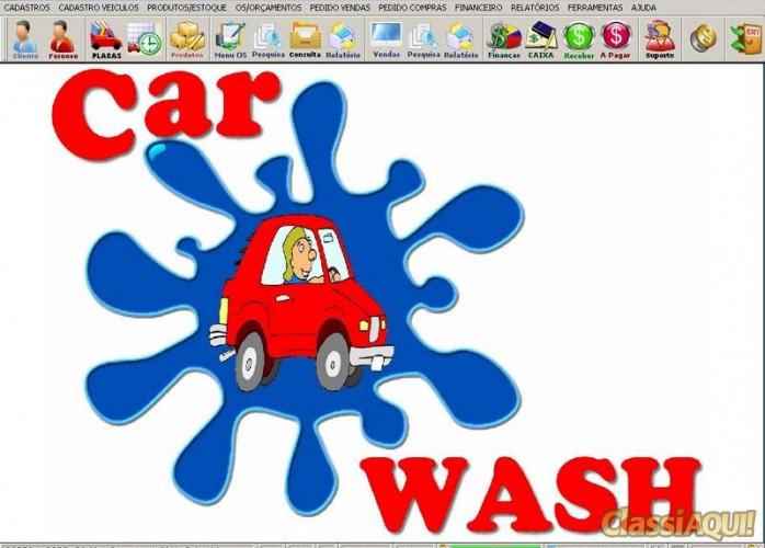 Programa para Lavagem Automotiva com Ordem de Serviço, Vendas e Financeiro v2.0 FPQSYSTEM