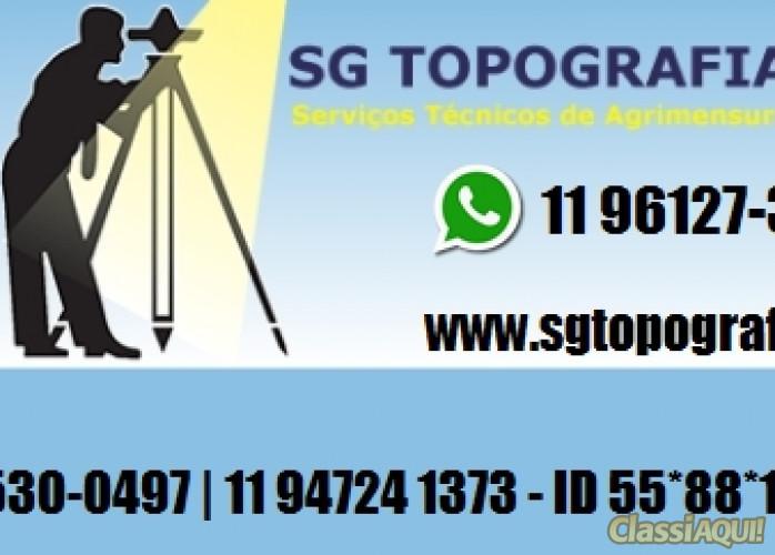 Serviço de topografia Georreferenciamento, locação para obras