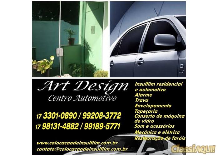 Insulfilm para Residencias e Automóveis em Rio Preto