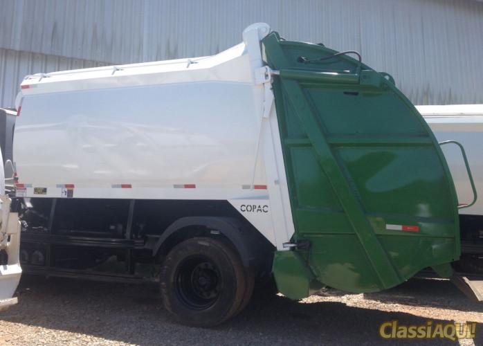 Compactador Coletor de lixo locação diária e mensal LOPAC – 2013