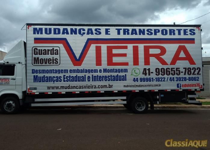 MUDANÇA E TRANSPORTES VIEIRA