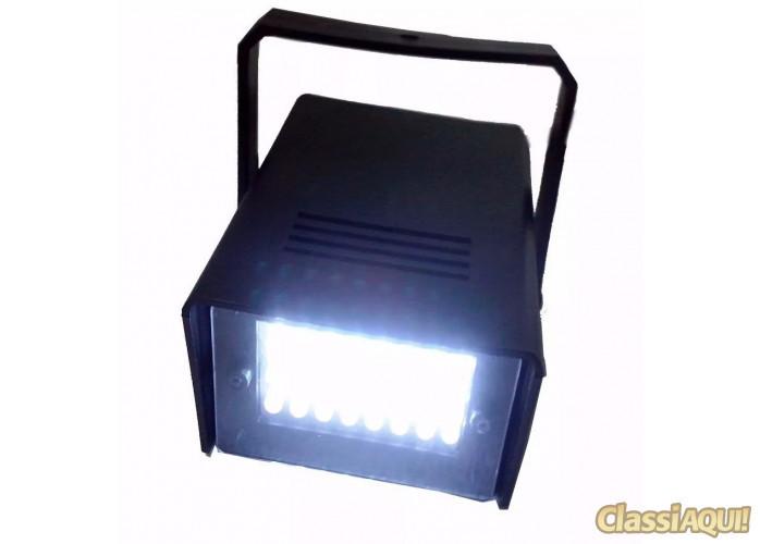 Strobo Flash 35w 24 Leds Iluminação Festa Balada Dj