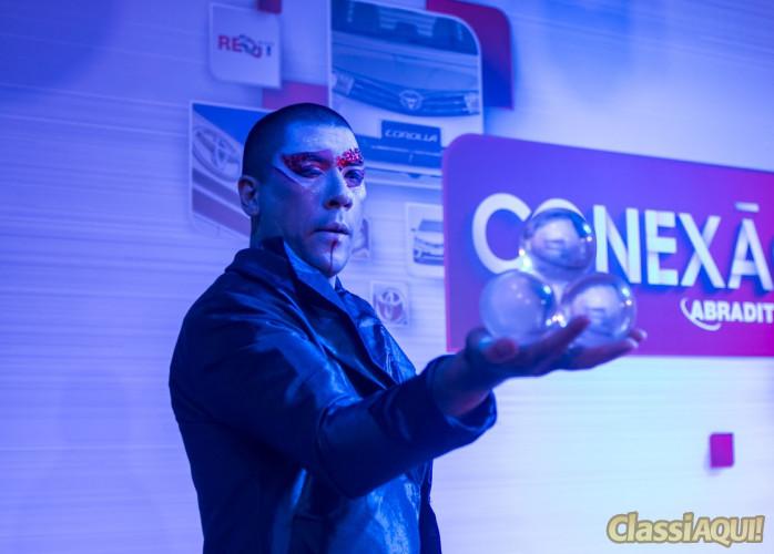 show circense em convenção de vendas humor e circo eventos
