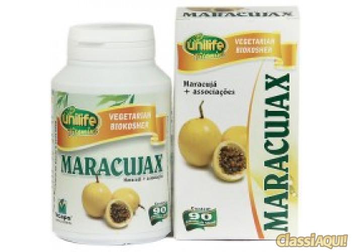 Maracujax 90 Cápsulas - Calmante Natural de Maracujá - Unilife