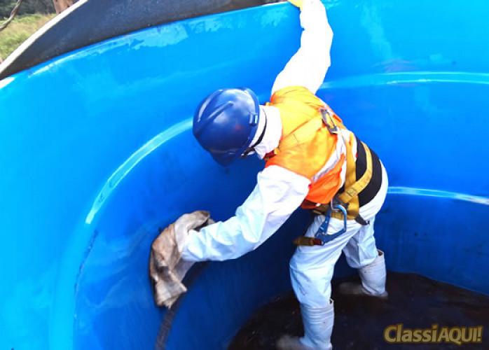 Limpeza caixa d'Água