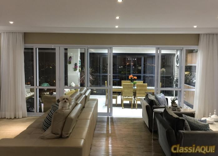 Apartamento 3 Suítes 192 m² Condomínio Royale Prestige em Santo André - Vila Gilda.