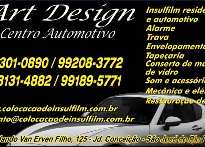 Art Design Insulfilm Arquitetônico em Rio Preto