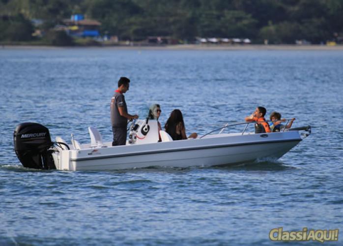 Lancha 16 pés Mais Boat 160 Plus ( Console central )