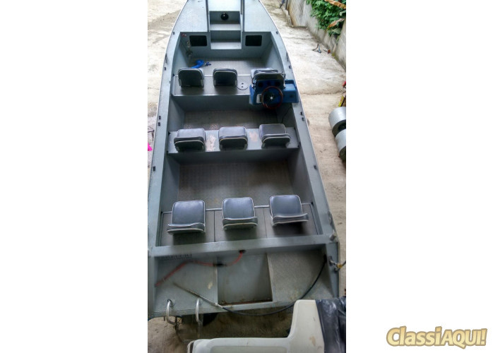 Barco alumínio Levefort 6 metros
