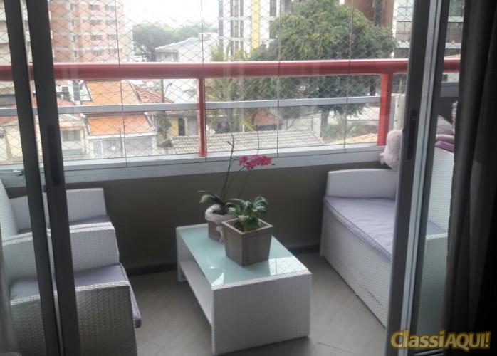 Apartamento 3 Suítes 135 m² Residencial Di Cavalcanti em Santo André - Vila Assunção.